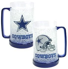 Dallas Cowboys Crystal Freezer Mug