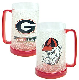 Georgia Bulldogs Crystal Freezer Mug