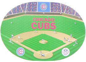 Casey 9413156516 Chicago Cubs Set of 4 Placemats