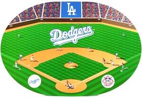 Los Angeles Dodgers Set of 4 Placemats