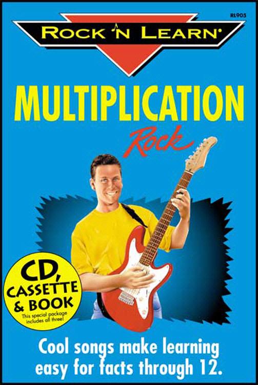 ROCK N LEARN RL-905 MULTIPLICATION ROCK CD