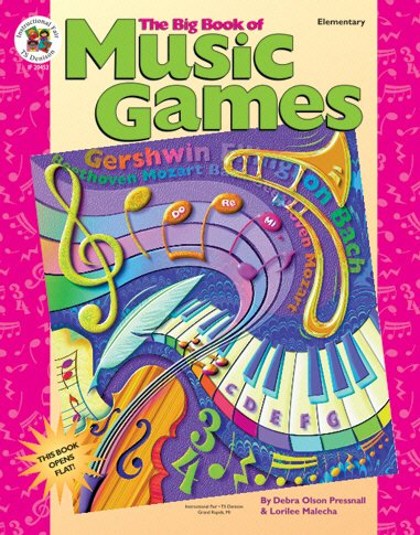 Frank Schaffer Publications If20453 The Big Book Of Music Games Gr 15 image
