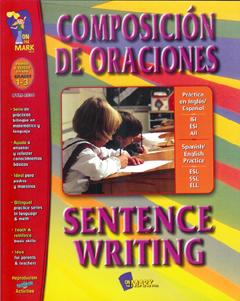 On The Mark OTM2530 Composicion De Oraciones Sentence Writing