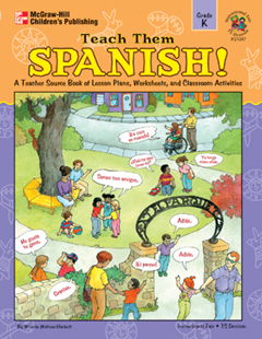 FRANK SCHAFFER PUBLICATIONS IF-21047 TEACH THEM SPANISH! KINDERGARTEN