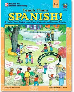 FRANK SCHAFFER PUBLICATIONS IF-21048 TEACH THEM SPANISH! GR. 1