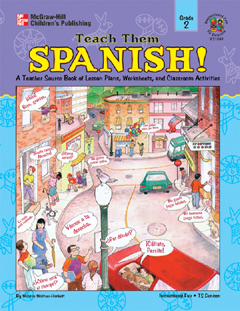 FRANK SCHAFFER PUBLICATIONS IF-21049 TEACH THEM SPANISH! GR. 2