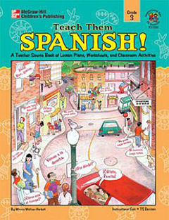 FRANK SCHAFFER PUBLICATIONS IF-21050 TEACH THEM SPANISH! GR. 3