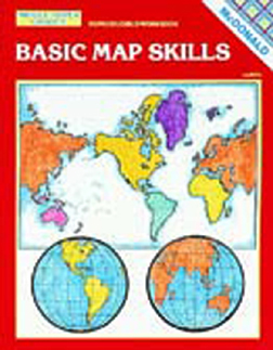 MCDONALD PUBLISHING MC-R651 BASIC MAP SKILLS GR. 6-9