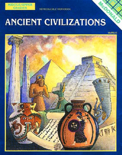 MCDONALD PUBLISHING MC-R540 ANCIENT CIVILIZATIONS GR. 6-9