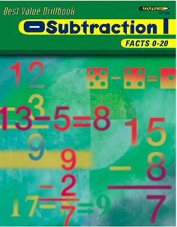 EDUPRESS EP-129 SUBTRACTION 1 FACTS 0-20