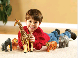 LEARNING RESOURCES LER0693 JUMBO JUNGLE ANIMALS EDRE21199