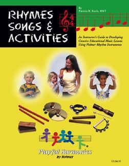 HOHNER INC. HOHRB1 RHYMES SONGS & ACTIVITIES INSTRUC ION BOOK EDRE21328