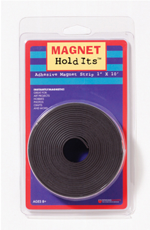 DOWLING MAGNETS DO-735005 MAGNET HOLD ITS 1 X 10 ROLL WITH ADHES IVE