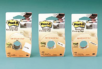 3M COMPANY MMM658 TAPE POST IT LABELING & COVER UP 6 LINE 1 INCH X 700 INCH