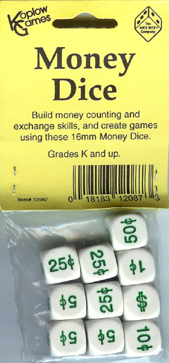 KOPLOW GAMES INC. KOP12087 MONEY DICE