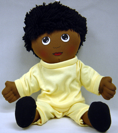 FANNYS PLAY HOUSE FPH732 DOLLS BLACK BOY DOLL SWEAT SUIT
