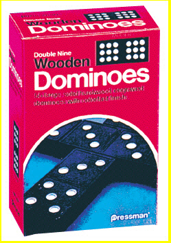 PRESSMAN TOYS PRE152112 DOUBLE SIX DOMINOES EDRE22741