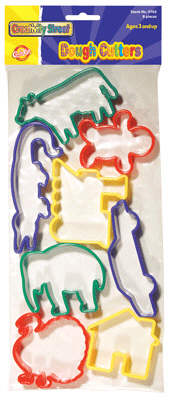 CHENILLE KRAFT COMPANY CK-9766 DOUGH CUTTERS - ANIMALS