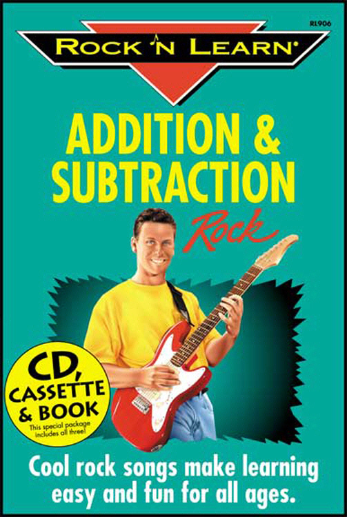 ROCK N LEARN RL-906 ADDITION & SUBTRACTION ROCK CD+BOOK