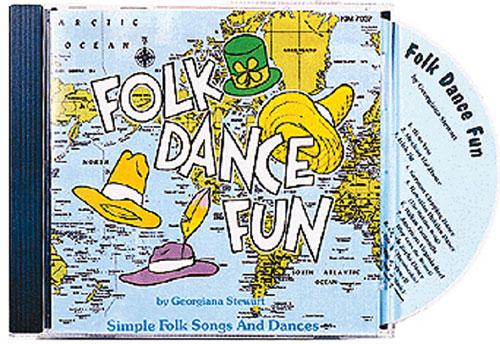 KIMBO EDUCATIONAL KIM7037CD FOLK DANCE FUN CD AGES 5-9