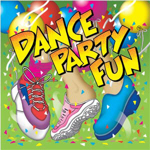 KIMBO EDUCATIONAL KIM9166CD DANCE PARTY FUN CD