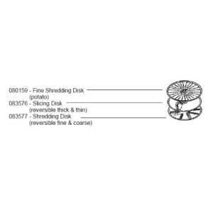 Bosch 080159 Fine Shred Disk MUZ4DS2