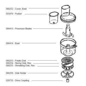 Bosch 088253 Potato Disk M6MM3 7MM2 4MM3