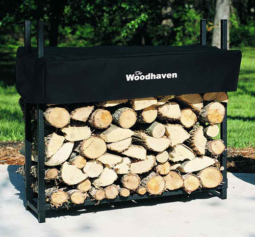 Alexander  36 WRC 36 WRC 3 Foot Woodhaven Firewood Rack With Cover