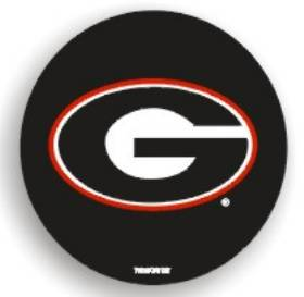 Casey Georgia Bulldogs Black Spare Tire Cover