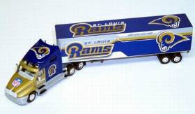 St. Louis Rams Fleer Collectibles 2002 Tractor Trailer