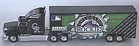 Colorado Rockies White Rose 99 Tractor Trailer
