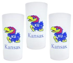 Kansas Jayhawks 3 Piece Tumbler Set CASY9113