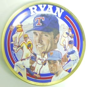 Casey MODEL #5710 Nolan Ryan Sports Impressions Plate