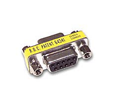 Cables To Go 02781 DB9 F-F MINI GENDER CHANGER