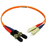 Cables To Go 17602 MULTIMODE ST F-SC M FIBER ADAPTER