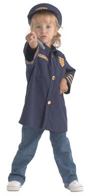 BRAND NEW WORLD BNWCPO106 DRAMATIC DRESS UPS COMMUNITY HELPE-R COSTUMES POLICE OFFICER