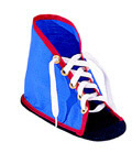 CHILDRENS FACTORY CF-361325 LACING SHOE WITH SOLE