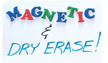 FLIPSIDE FLP10027 MAGNETIC DRY ERASE BOARD 23 1/2 X-35 1/2