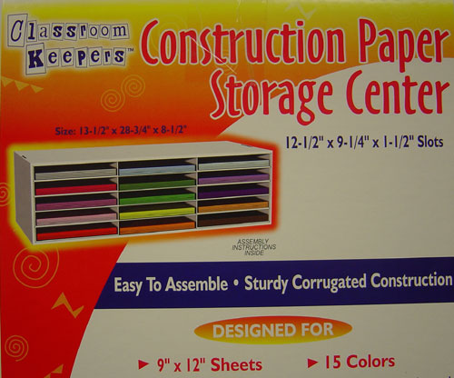 Great PACON CORPORATION PAC01310 CONSTRUCTION PAPER STORAGE