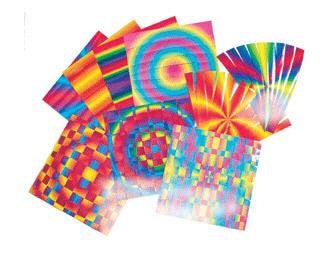 ROYLCO INC. R-16004 7 x 7 Rainbow Weaving Mats