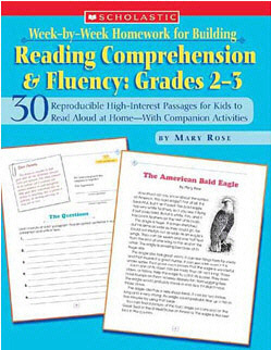 SCHOLASTIC TEACHING RESOURCES SC-0439517796 WEEK-BY-WEEK HOMEWORK FOR BUILDING-READING COMPREHENSION & FLUENCY GRA