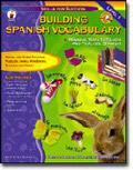 CARSON DELLOSA CD-4340 BUILDING SPANISH VOCABULARY-ALL GRADES