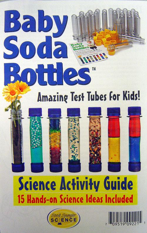 BE AMAZING TOYS/STEVE SPANGLER BATBSB150 BABY SODA BOTTLES EDRE6285