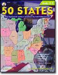 CARSON DELLOSA CD-0774 50 STATES-GR. 3-5