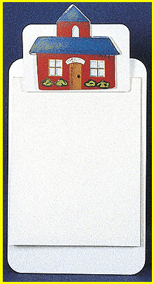 Image of AFFLUENCE UNLIMITED AU-31832 CLIPBOARDS SCHOOL HOUSE