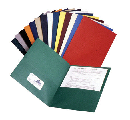 ESSELTE CORPORATION ESS57513 TWIN POCKET PORTFOLIOS BOX OF 25 AS-SORTED COLORS