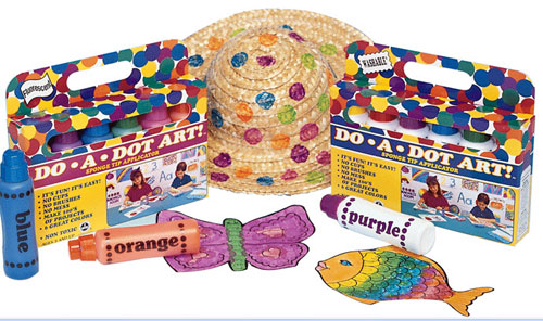 DO-A-DOT ART DAD105 DO-A-DOT ART FLUORESCENT 5 PACK EDRE6602
