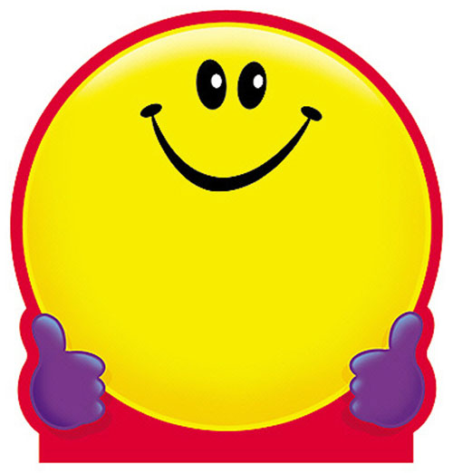 TREND ENTERPRISES T-72013 NOTE PAD SMILEY FACE-50 SHEETS 5 X 5 ACID-FREE