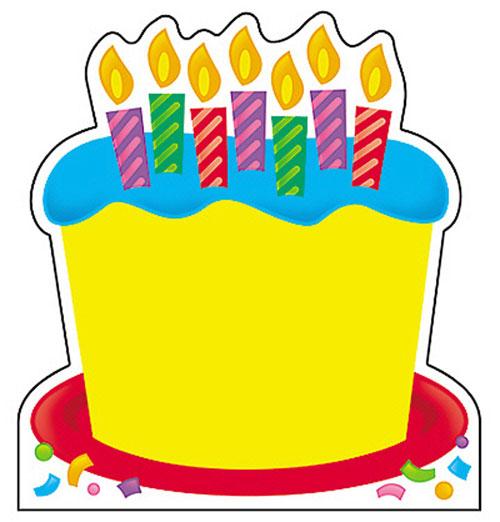 TREND ENTERPRISES T-72032 NOTE PAD BIRTHDAY CAKE-50 SHEETS 5 X 5 ACID-FREE