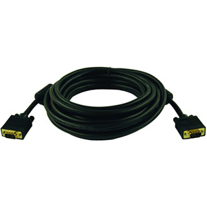 Tripp Lite SVGAVGA Monitor Cable Plenum 50ft 1 x DSub HD15 1 x DSub HD15 Video Cable Molded Black P502050P